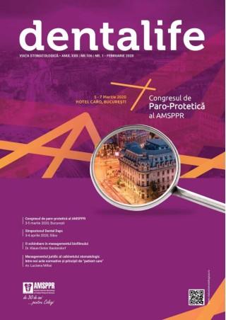 Revista Viata Stomatologica nr. 1  Februarie 2020
