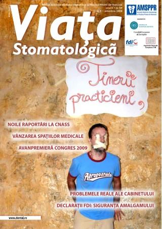 Revista Viata Stomatologica nr. 5 Octombrie 2008