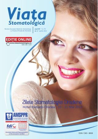 Revista Viata Stomatologica nr.1 2013