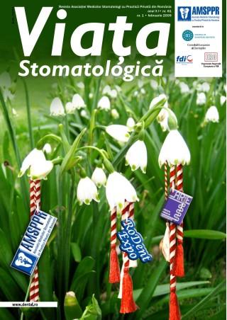 Revista Viata Stomatologica nr.1 Februarie 2009