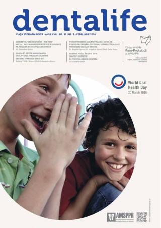 Revista Viata Stomatologica nr.1 Februarie 2016