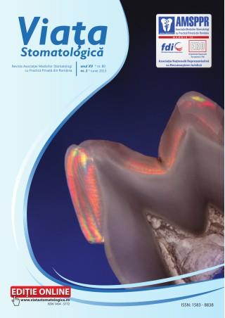 Revista Viata Stomatologica nr.2 2013