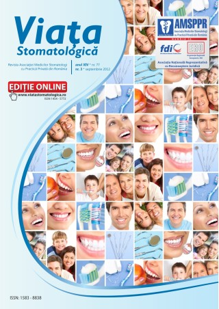 Revista Viata Stomatologica nr.3 2012