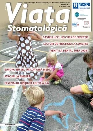 Revista Viata Stomatologica nr.3 Iunie 2008