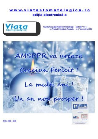 Revista Viata Stomatologica nr.4 2011
