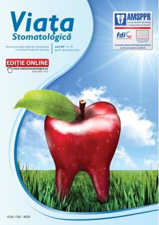 Revista Viata Stomatologica nr.4 2012