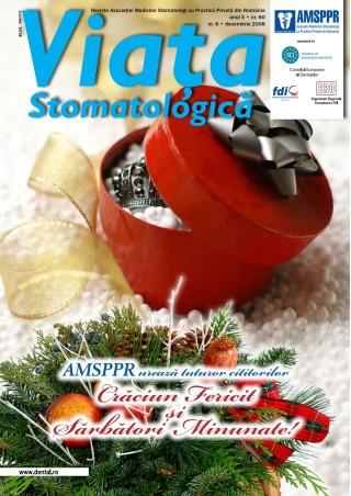 Revista Viata Stomatologica nr.6 Decembrie  2008